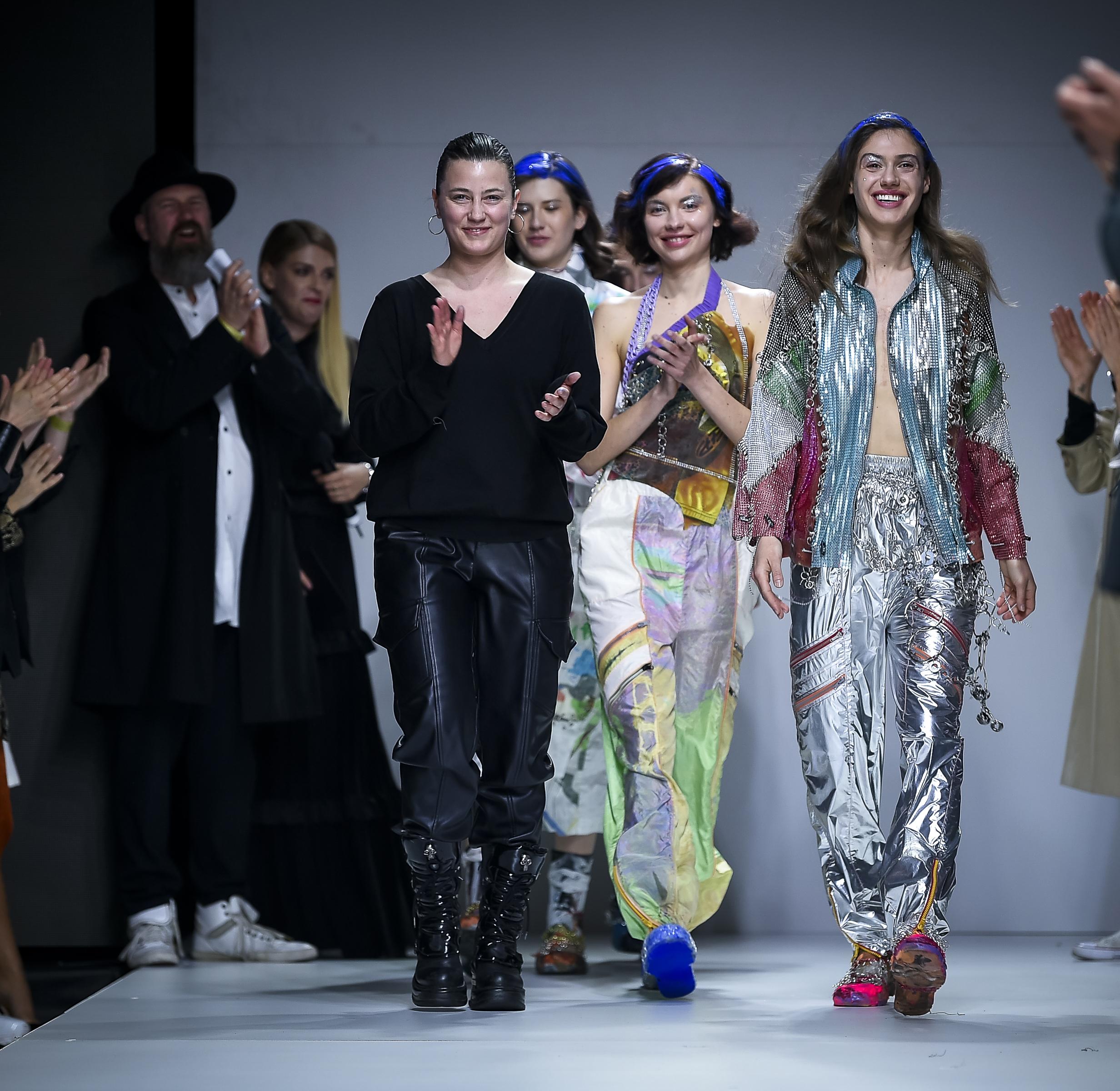 LJFW apr19 Day1 photoJureMakovec 285 Gala Borović pobednica Fashion Scout SEE konkursa