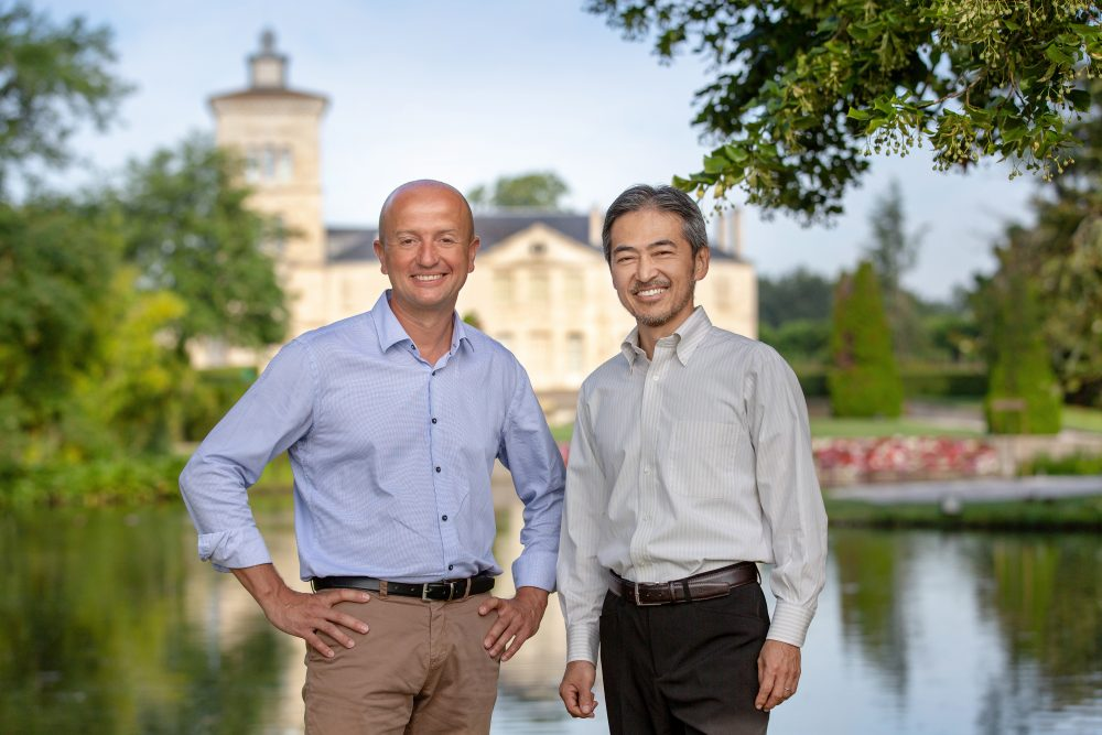 Mr Bordes and Mr Shiina e1555071238964 Ekskluzivna večera Be@Château Lagrange