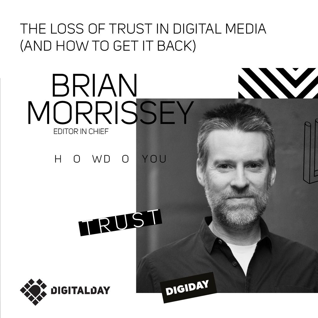 Rrian Morrssey Veruješ li digital ekspertima?
