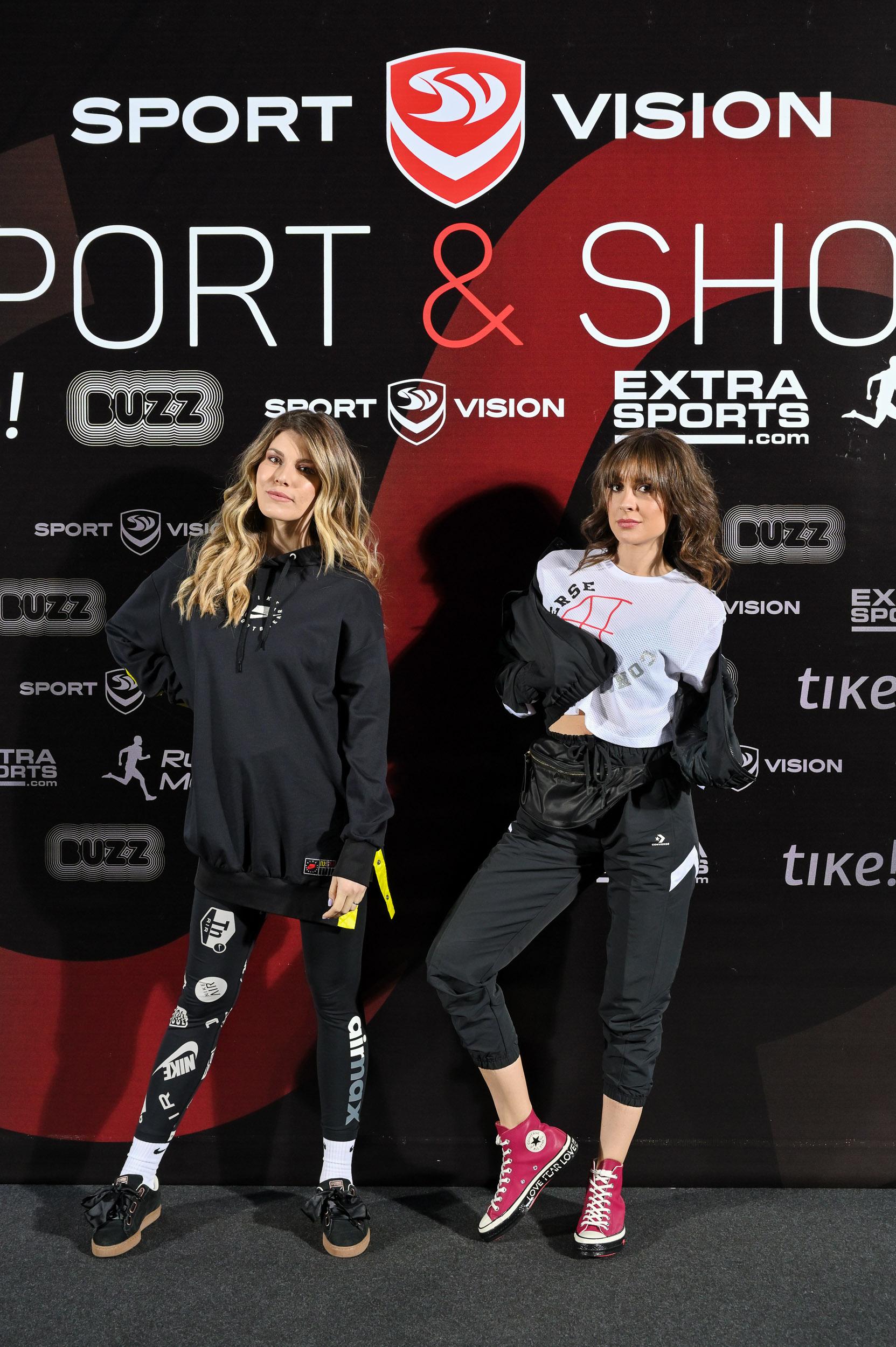Tamara Dragicevic Dragana Micalovic Sportsko modni spektakl u znaku Sport Vision a