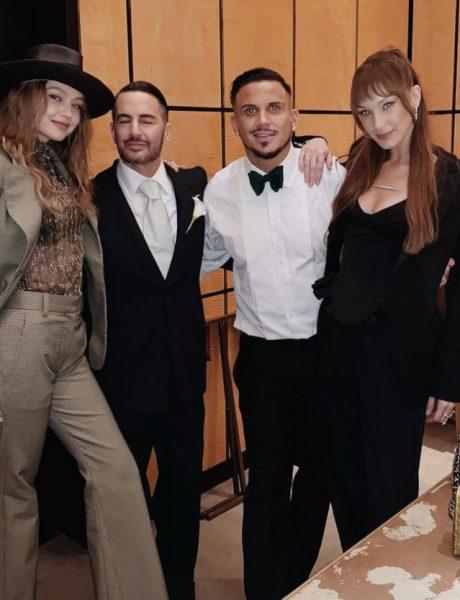 #fashioninspo: Sestre Hadid na venčanju Marca Jacobsa