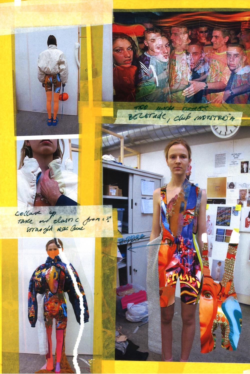 researchcollage1 Gala Borović o pobedi na Fashion Scout SEE konkursu, domaćoj modnoj sceni i stvarima bez kojih ne može da zamisli život (INTERVJU)