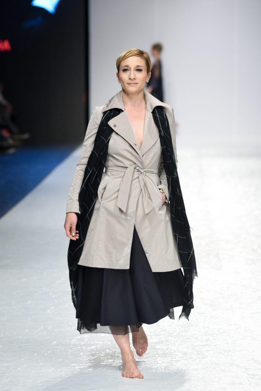 vanja ejdus u modelu daniele glisic e1555685958532 Perwoll Fashion Week: Revija posvećena Mileni Dravić