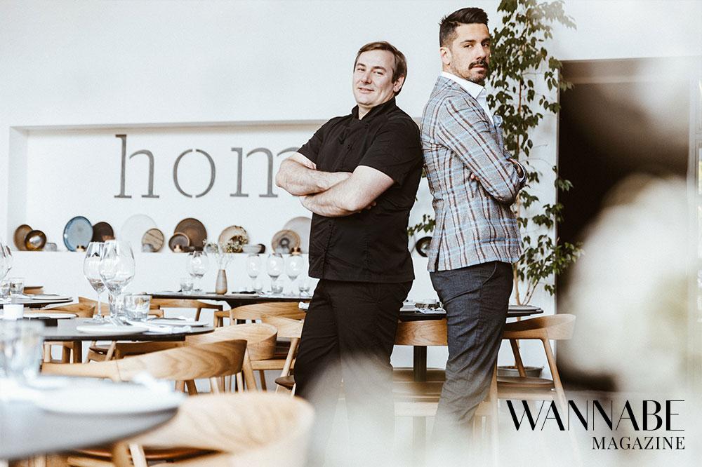 2 1 Filip Ćirić & Vlastimir Puhalo, Homa restoran, o pomeranju granica ugostiteljstva, konceptu Homa Around the World i hrani kao umetnosti