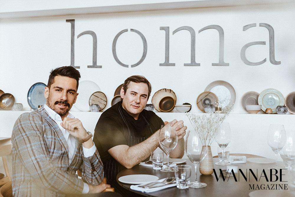 3 1 Filip Ćirić & Vlastimir Puhalo, Homa restoran, o pomeranju granica ugostiteljstva, konceptu Homa Around the World i hrani kao umetnosti