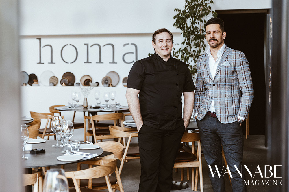 7 Filip Ćirić & Vlastimir Puhalo, Homa restoran, o pomeranju granica ugostiteljstva, konceptu Homa Around the World i hrani kao umetnosti