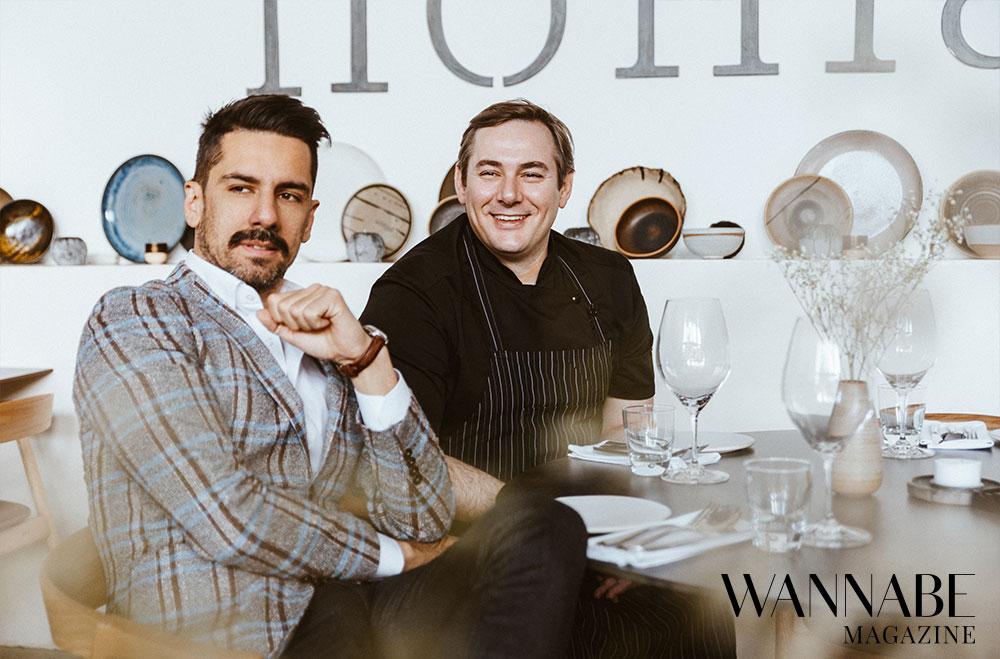8 Filip Ćirić & Vlastimir Puhalo, Homa restoran, o pomeranju granica ugostiteljstva, konceptu Homa Around the World i hrani kao umetnosti