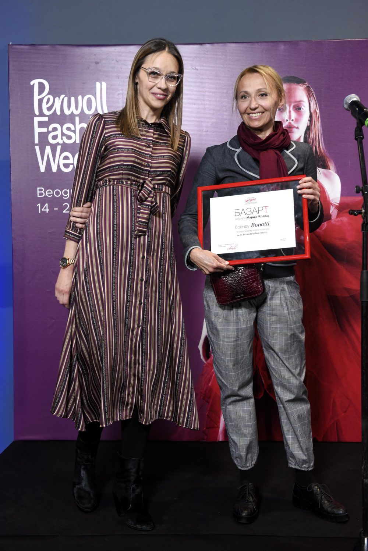 Bonatti nagrada Bazart e1557485443234 Nagrađeni najbolji učesnici Perwoll Fashion Week a