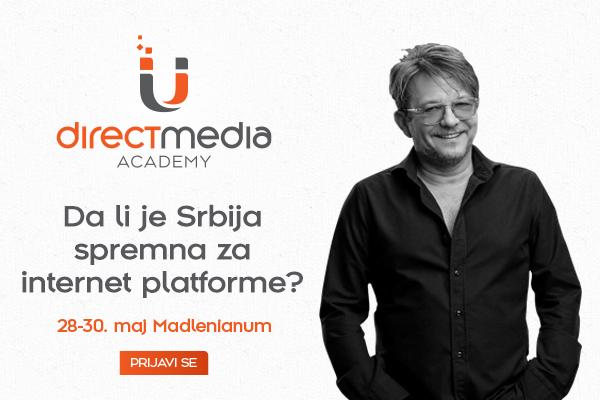Dragan Bjelogrlić na Direct Media Akademiji Direct Media Akademija najavljuje gostovanja specijalnih gostiju: Dragan Bjelogrlić 30. maja u Madlenijanumu!