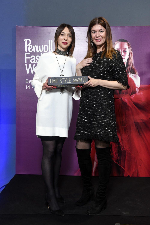 Dusica Dramicanin nagrada Lepota i zdravlje e1557485609551 Nagrađeni najbolji učesnici Perwoll Fashion Week a