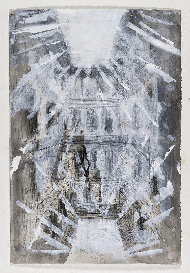 Instalacija KORACI 01 e1556882561945 Gradska dešavanja: Instalacija italijanskog umetnika Alfreda Pirria u Jugoslovenskoj kinoteci