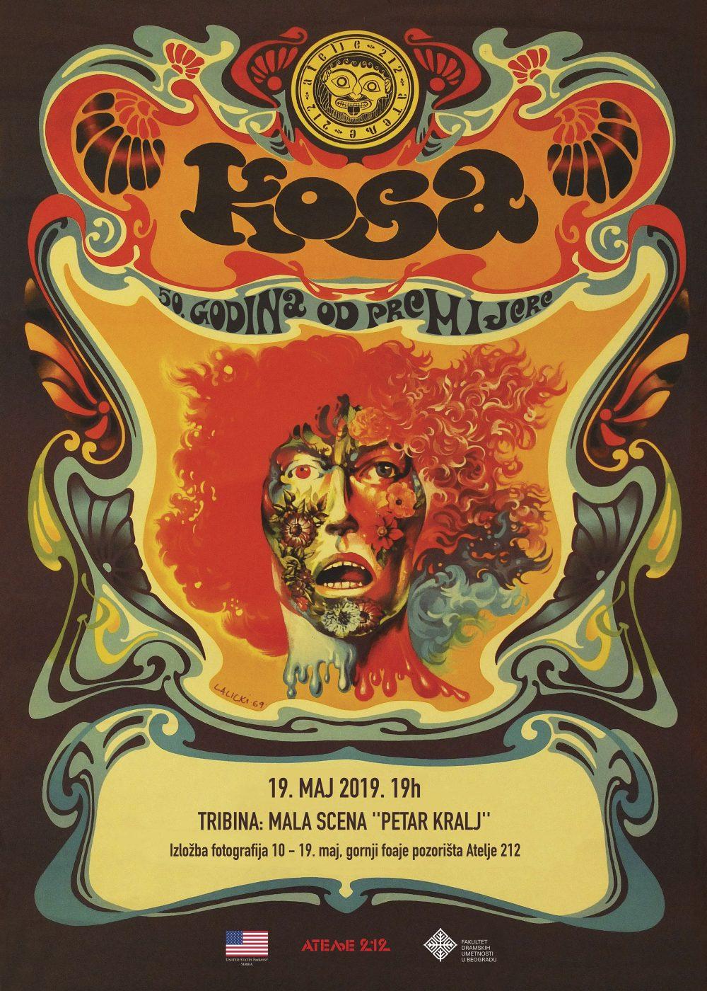 Poster Kosa e1557835959372 Obeležavanje 50 godina od premijere mjuzikla Kosa