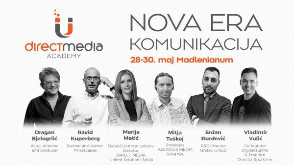 Predavači Direct Media Akademije e1557922159813 Direct Media Akademija najavljuje gostovanja specijalnih gostiju: Dragan Bjelogrlić 30. maja u Madlenijanumu!