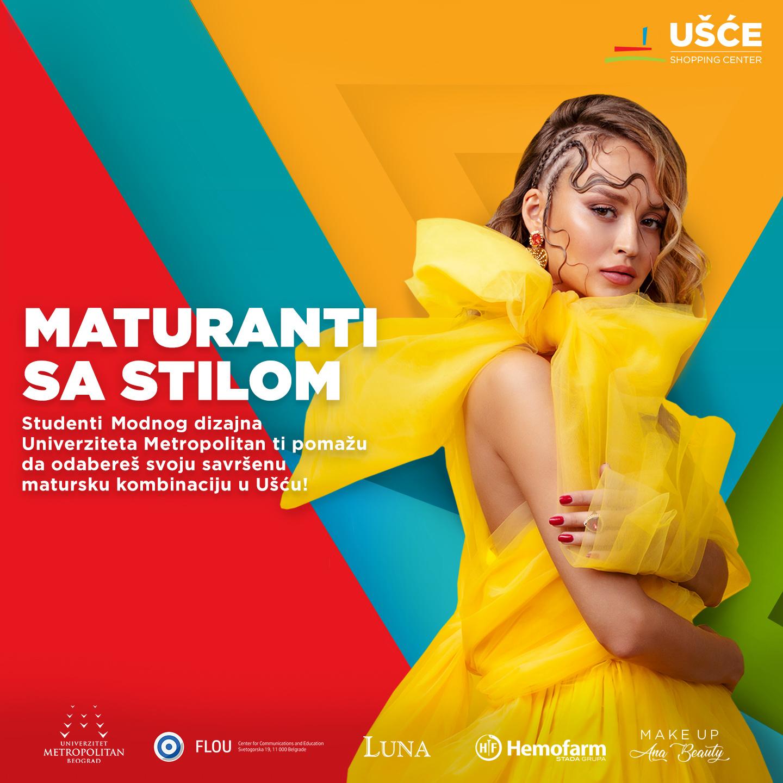 UŠĆE MATURANTI SA STILOM Vest Studenti Modnog dizajna u ulozi modnih stilista za buduće maturante sa stilom