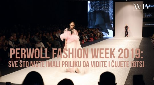 Perwoll Fashion Week BTS