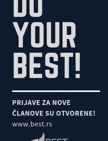 BEST Beograd otvara vrata za nove članove!