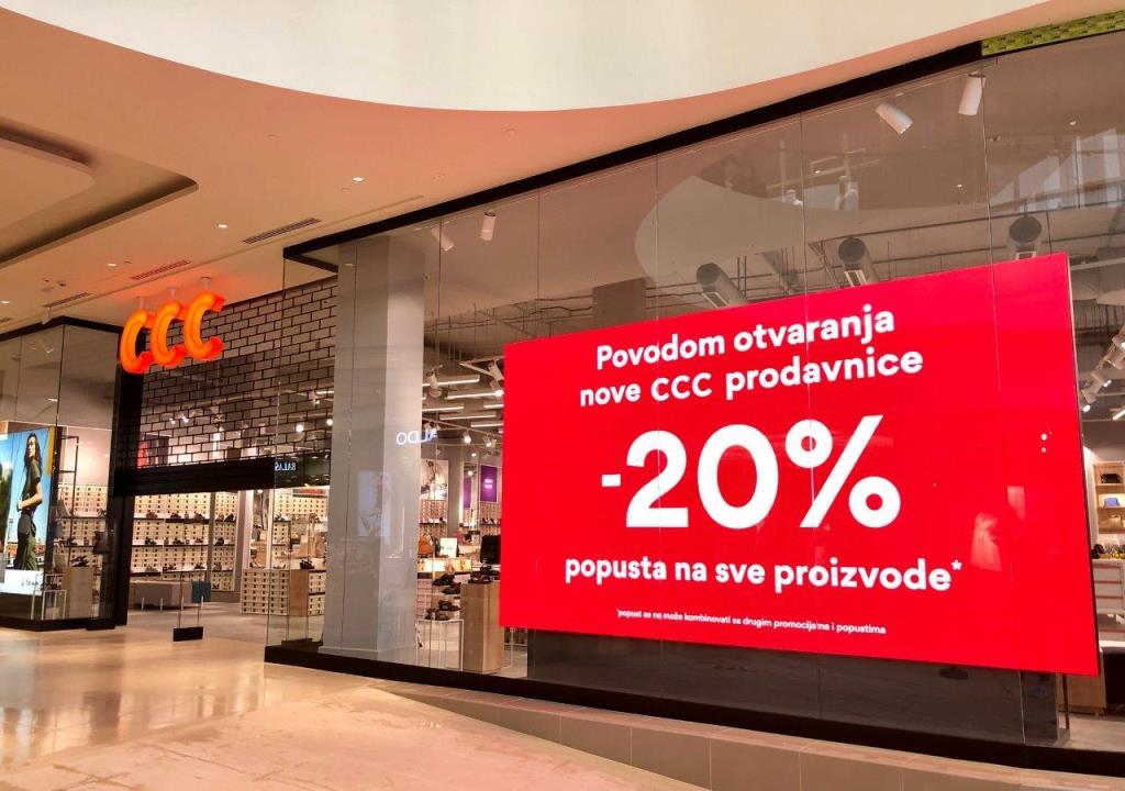 CCC1 Naš omiljeni brend CCC shoes&bags na novoj adresi!