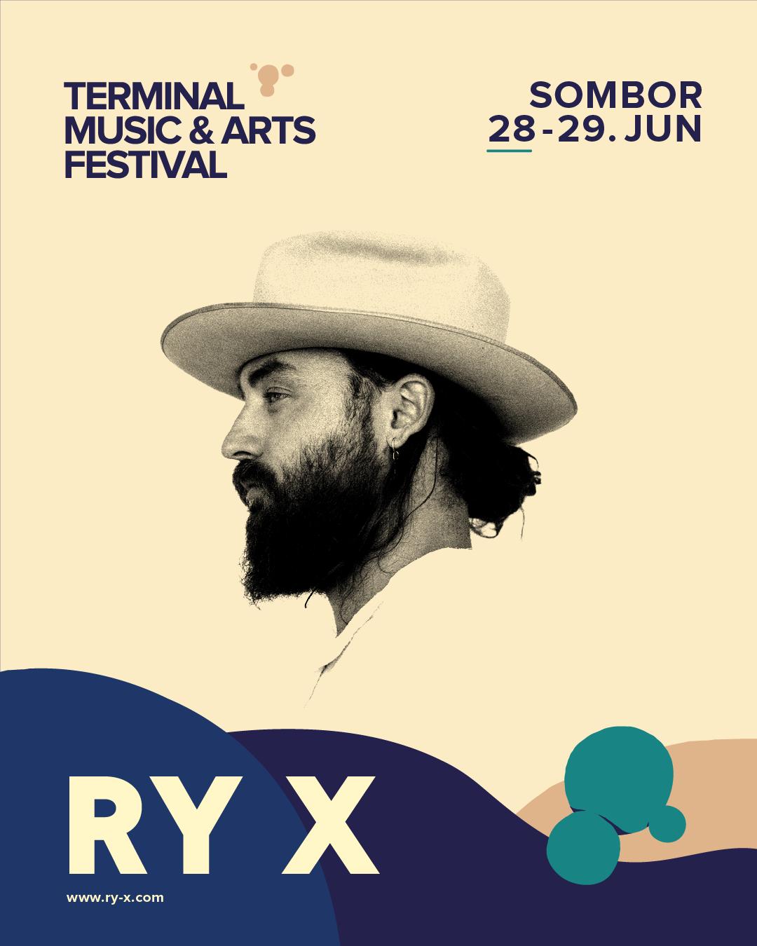 RY X TERMINAL 2019 Uplovi u lepšu stvarnost – budi deo Terminala!