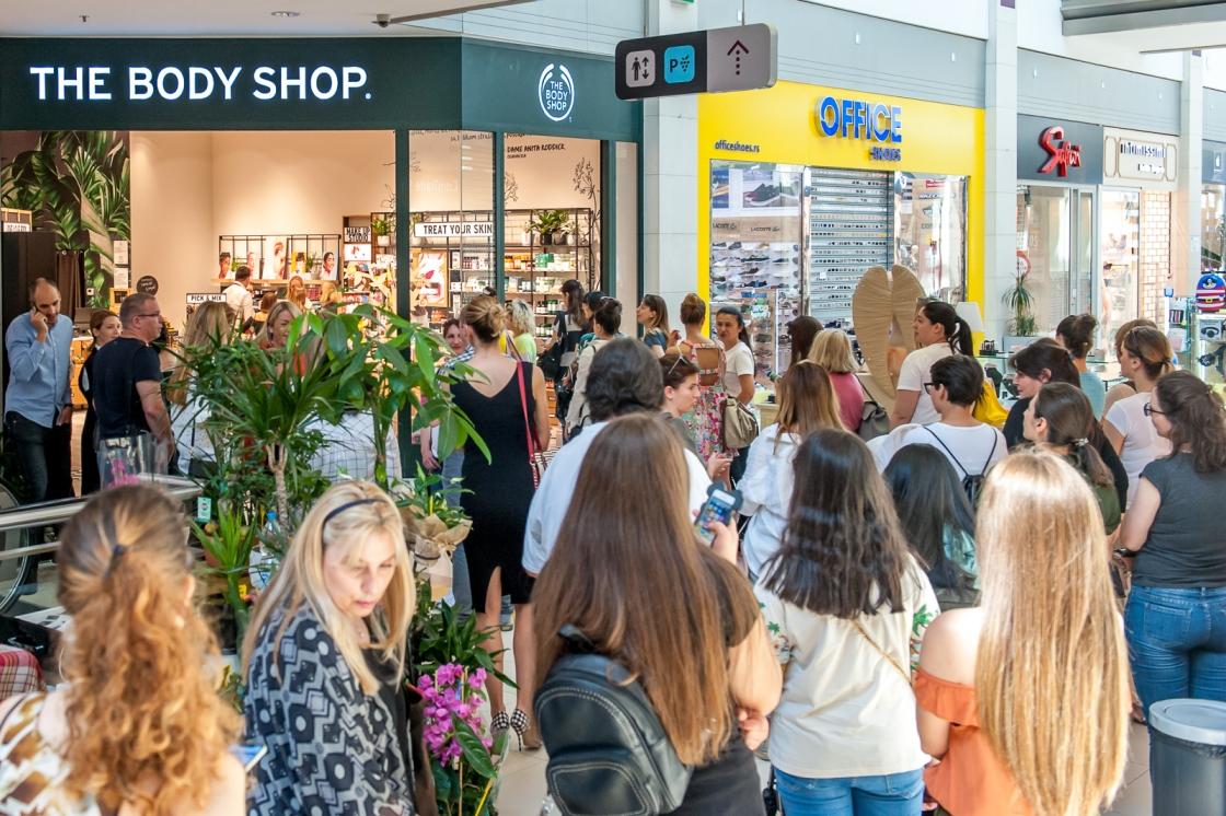 Sa današnjeg otvaranja The Body Shop prodavnice u Delta City tržnom centru 2 The Body Shop je stigao i u Delta City tržni centar!