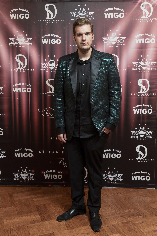 Stefan Djokovic 1 Stefan Đoković revijom u hotelu Moskva najavio svoju prezentaciju u Dubaiju