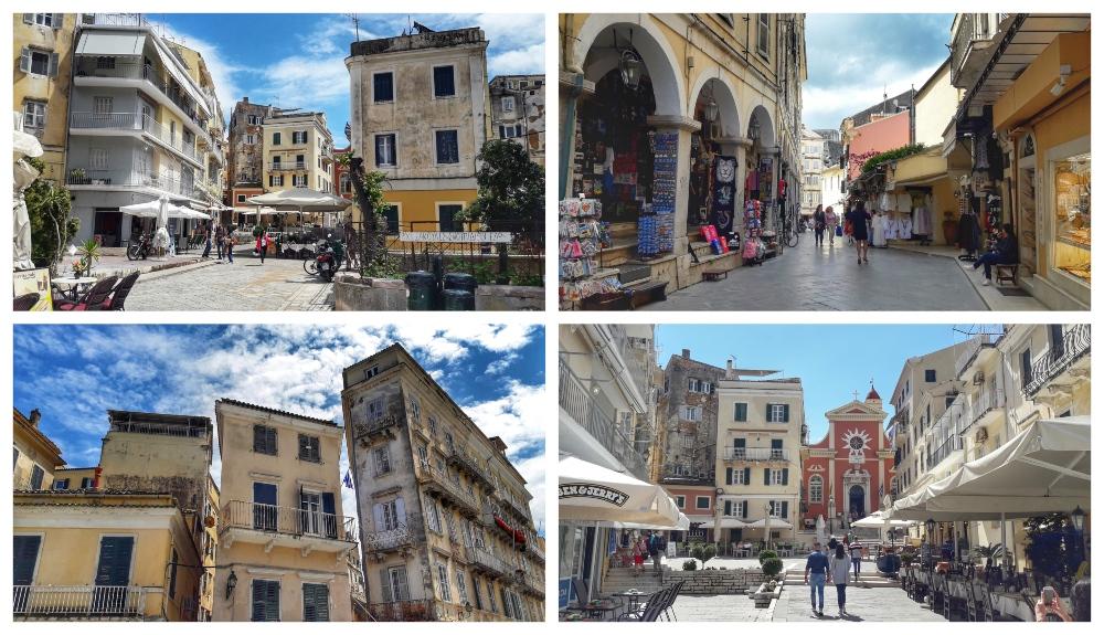 ulicice 1 Krf: Kratka šetnja kroz grad