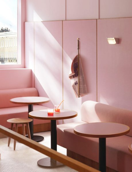Trendovi u dizajnu enterijera: Skromno ružičasta koja zahteva pažnju