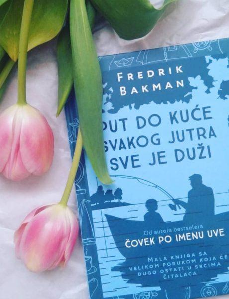 """#mustread: """"Put do kuće svakog jutra sve je duži"""" autora Fredrik Backmana"""