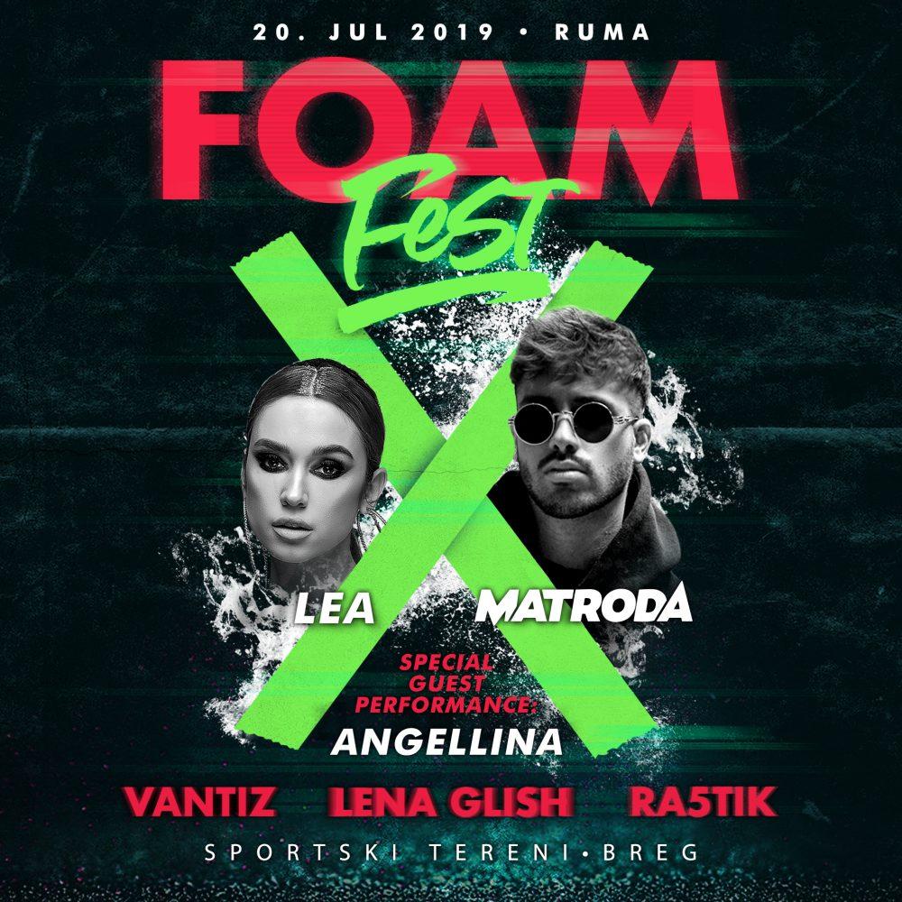 Foam Fest X FINAL e1563534698604 Vrhunska žurka na desetom Festivalu pene uz domaće i svetske izvođače, specijalna gošća Angellina!