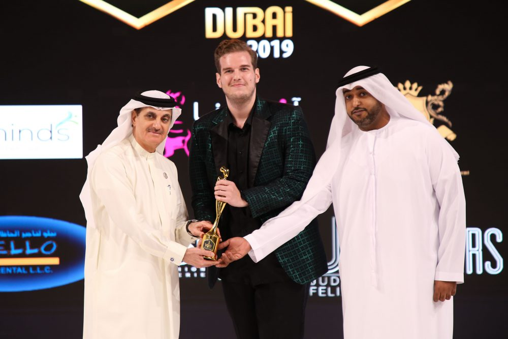 IMG 1297 e1562231402864 Stefan Đoković dobitnik nagrade na Fashion Week u u Dubaiju!