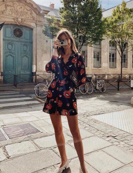 #TRENDINGSTYLE: Tamna cvetna haljina kao #musthave za leto – ali i jesen!