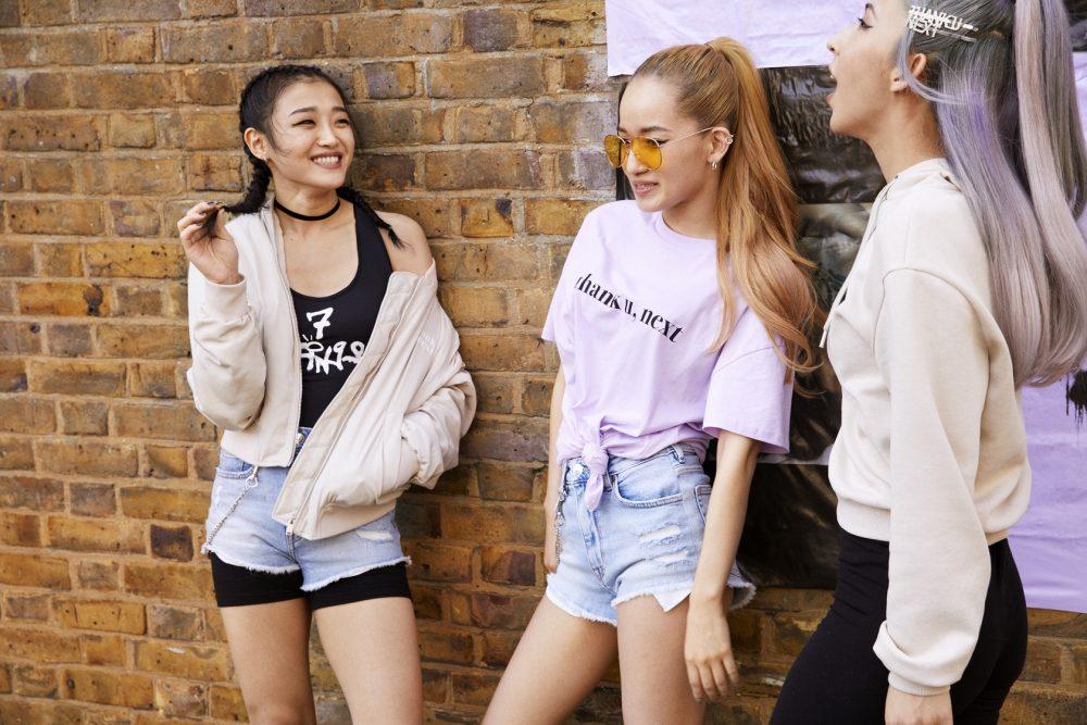 ariana grande x hm 6 e1563272195952 H&M najavljuje specijalnu Ariana Grande, thank u next kolekciju