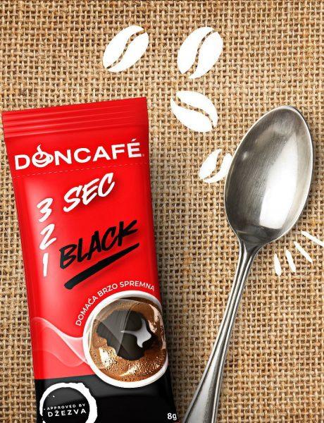 GIVEAWAY: Doncafé 3 sec 2 1 black – jedina 100% turska kafa za brzu i laku pripremu!