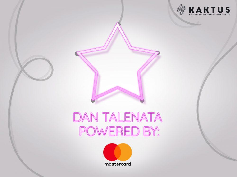 KAKTUS Dan talenata e1564740601997 MAKE ROOM FOR A NEW BLOOM: Raspisan konkurs KAKTUS Talents Award (powered by Mastercard)!