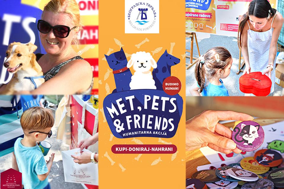 Met Pets 01 vizual vest Humanitarna akcija MET, Pets & Friends na Kalemegdanu