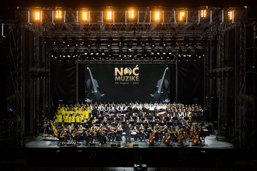 Noc muzike Simfonijski orkestar i Hor RTSa e1567417827555 Noć muzike na Ušću u okviru Cloud platforme: Nad Beogradom grmela klasika!