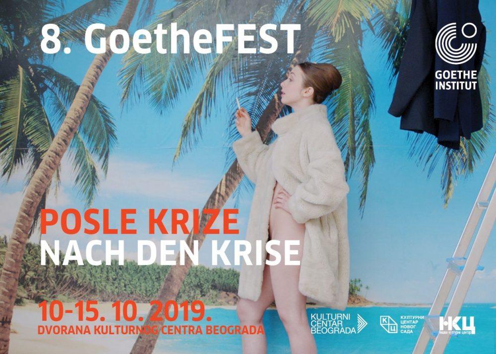 GoetheFEST 2019 naslovna e1570530543743 8. GoetheFEST 2019. Posle krize   Nach Den Krise