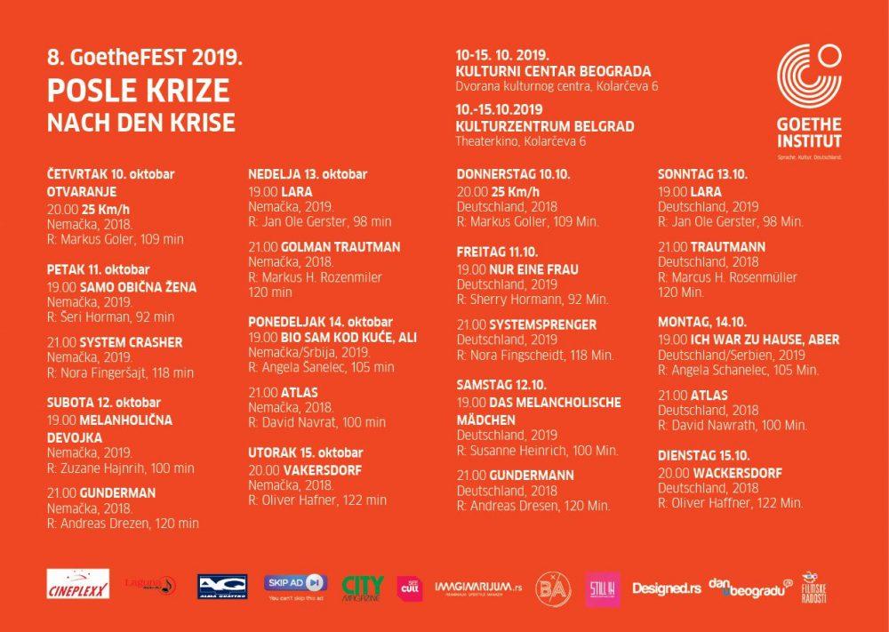 GoetheFEST 2019 program BG e1570530757346 8. GoetheFEST 2019. Posle krize   Nach Den Krise
