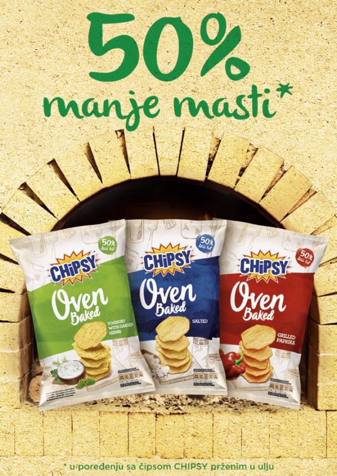 Oven Baked1 Prvi pečeni Chipsy u Srbiji!