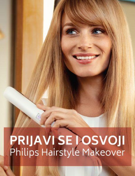 Prijavi se za Philips HAIRSTYLE MAKEOVER i osvoji profesionalno stilizovanje kose!