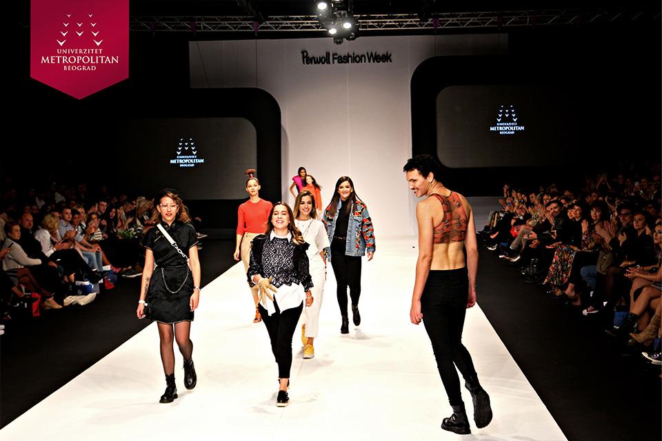 Spektakularna revija studenata Modnog dizajna na 46. Beogradskoj nedelji mode Spektakularna revija studenata Modnog dizajna na 46. Beogradskoj nedelji mode