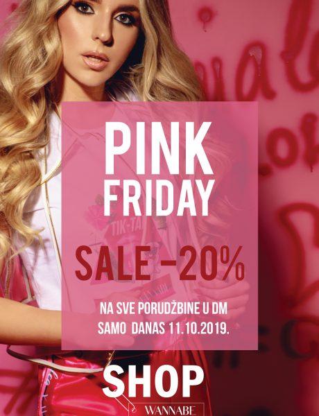 PINK FRIDAY: Iskoristi 20% popusta na celu Lea x WANNABE kolekciju – samo danas!