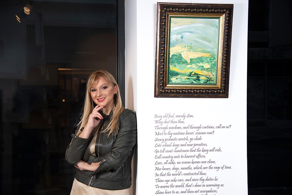 gordana tomić x rastuće sunce 7 Gordana Tomić, slikarka: Motiv sreće je motiv kretanja, stremljenja i traganja, a poenta tog kretanja je da nam se ukažu novi horizonti!