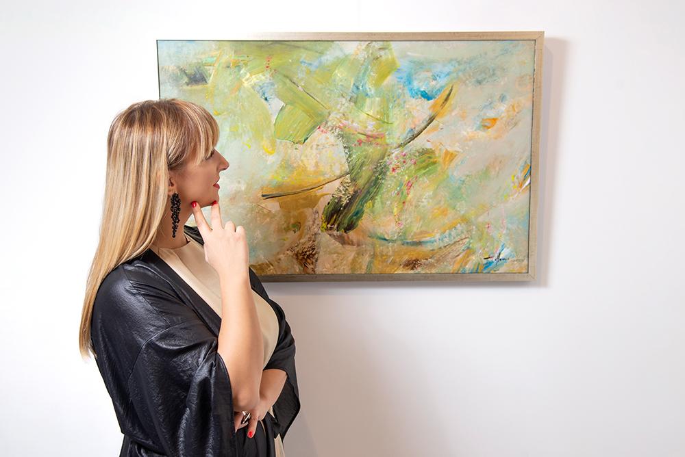 gordana tomić x rastuće sunce 9 Gordana Tomić, slikarka: Motiv sreće je motiv kretanja, stremljenja i traganja, a poenta tog kretanja je da nam se ukažu novi horizonti!
