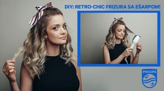 DIY: Retro-chic frizura