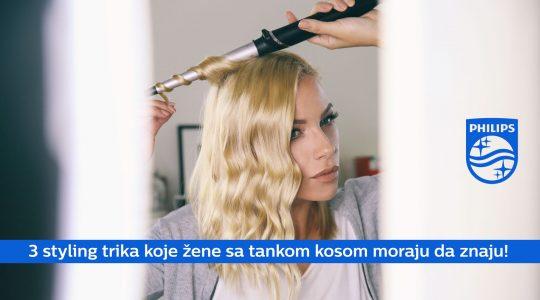 Styling trikovi za tanku kosu