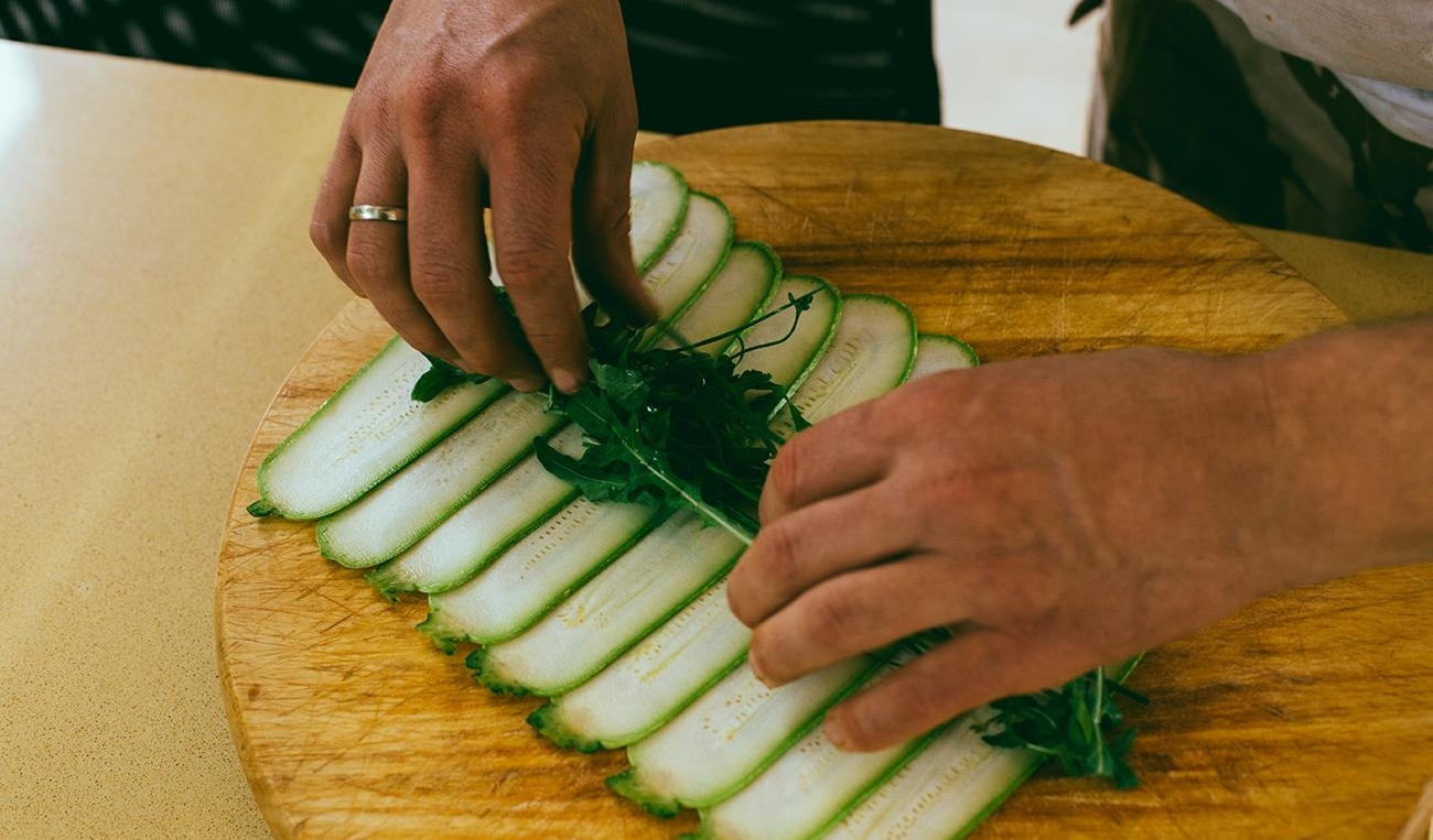 sushi ninamilan 5 Novi specijalitet za tvoju svesku recepata: Rough Vegan Green Sushi