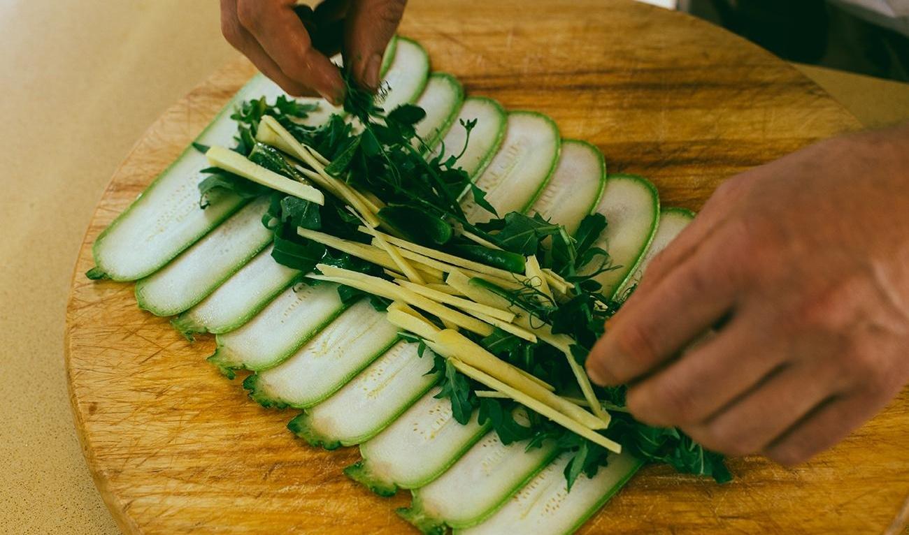sushi ninamilan 6 Novi specijalitet za tvoju svesku recepata: Rough Vegan Green Sushi