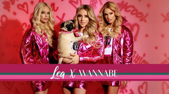 Lea x WANNABE