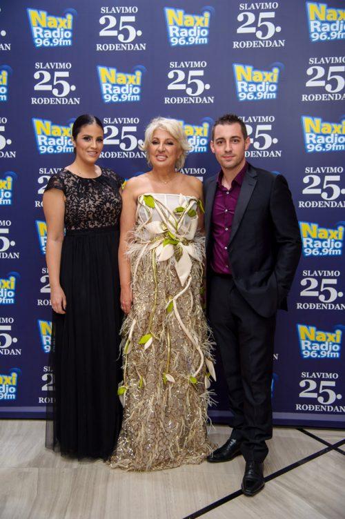 17 Maja Rakovic Milica Ivanovic i Nikola Kovacevic e1575041956283 NAXI RADIO: 25 godina ljubavi prema radiju