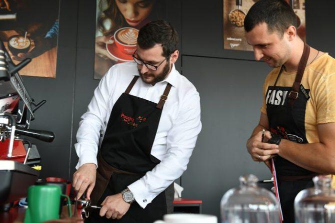 SA SrđanMarkovic e1573817916732 Strauss Coffee održao takmičenje za najboljeg baristu 2019. Pobednik Aleksander Lekomtsev iz Ukrajine